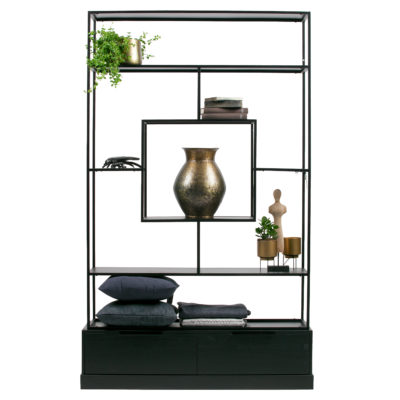 Woood-Fons-Cabinet-Metal-Wood-Black