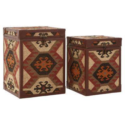Marseille Side Table Trunks (Set of Two)