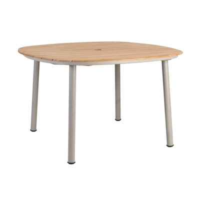 Alexander Rose Cordial Beige Shaped Small Table