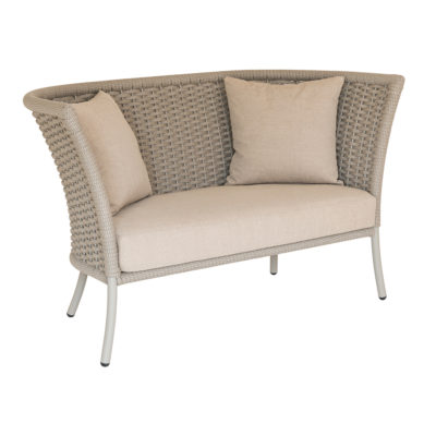 Alexander Rose Cordial Rope Straight Top Sofa Beige