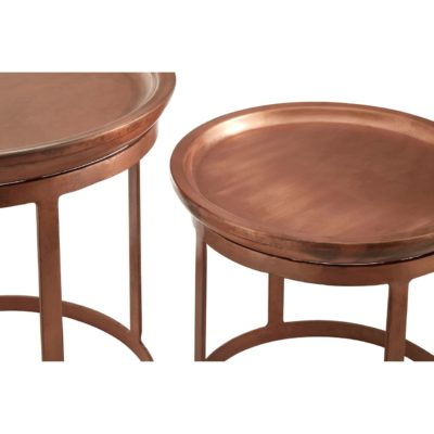 Oslo Copper Side Table