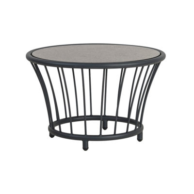 Alexander Rose Cordial Side Table Grey Frame
