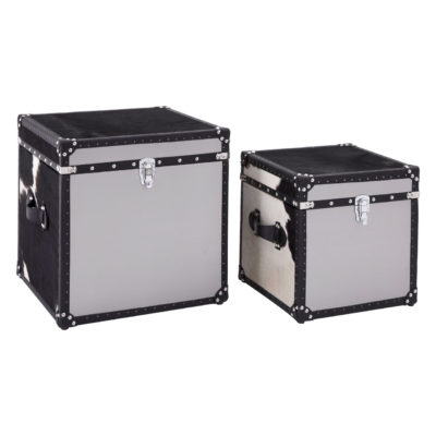 Portofino Townhouse Storage Trunks (Set of Two)