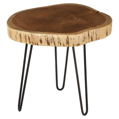 Stavenger i Acacia Wood Side Table