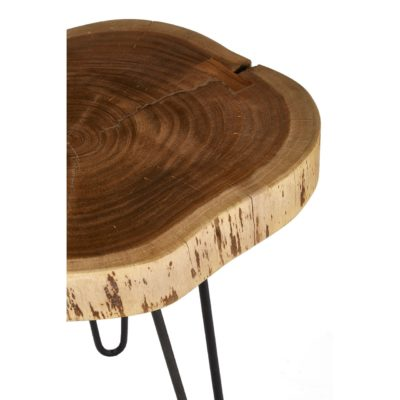Stavenger Acacia Wood Side Table