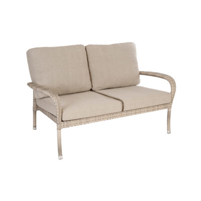 Alexander Rose Ocean Pearl 2 Seater Sofa with Cushions