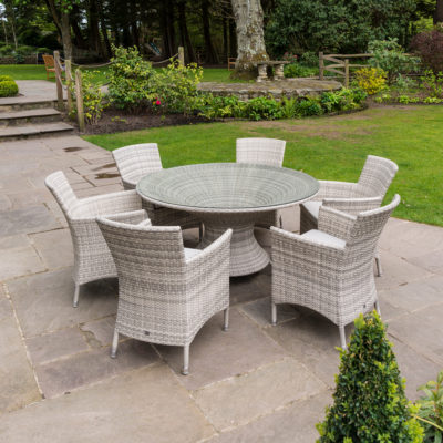 Alexander Rose Wave Round Table