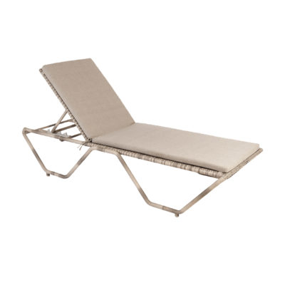 Alexander Rose Ocean Stacking Sunbed with Cushion