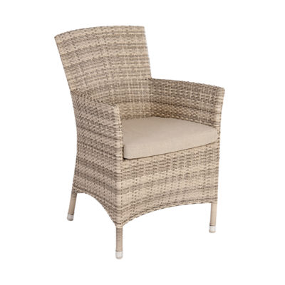 Alexander Rose Ocean Wave Armchair with Cushion