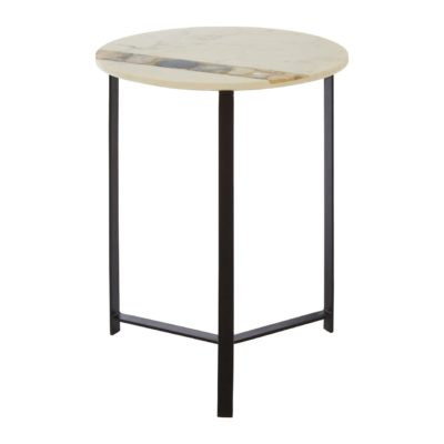 Venice Marble Side Table