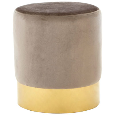 Calla-Round-Footstool-Taupe-Main1