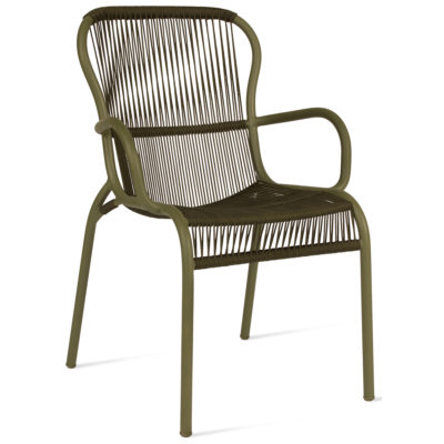 Loop-wicker-Dining-Chair-green-vincent-sheppard