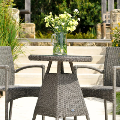 Monte Carlo Bistro Table with Glass