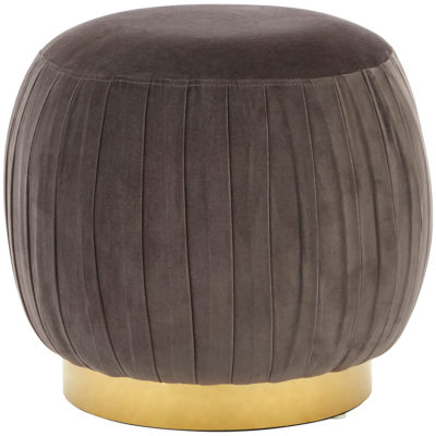Savena Round Footstool