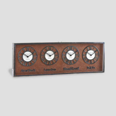 Cities-Wall-Clock-dialma-brown