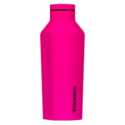 Corkcicle-Canteen-9oz-neon-pink