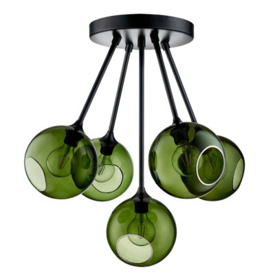 Ballroom-Molecule-army-green-ceiling-light-design-by-us