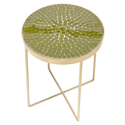 sidetable-green-glass-bloomingville