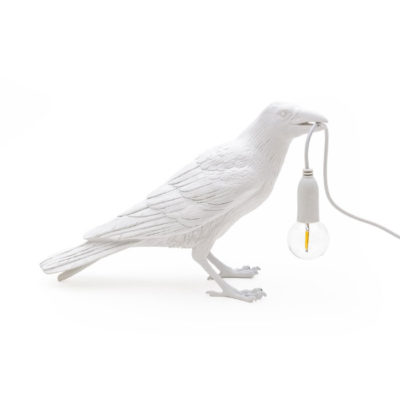 Bird-Lamp-White-Waiting-OUTDOOR-Seletti