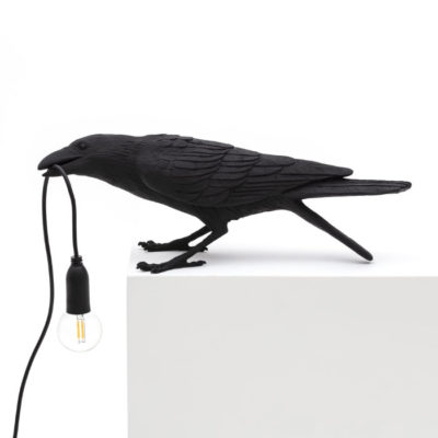 Bird-Lamp-Black-Playing-OUTDOOR-Seletti