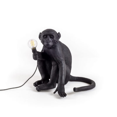The-Monkey-Lamp-Sitting-version-seletti-black