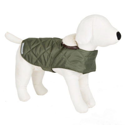 mutts-and-hounds-Coat-Quilt-Olive