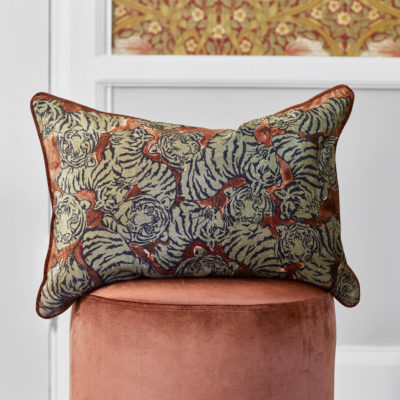 Jakobsdals-cushion-Elegant-Tigers-Cushion