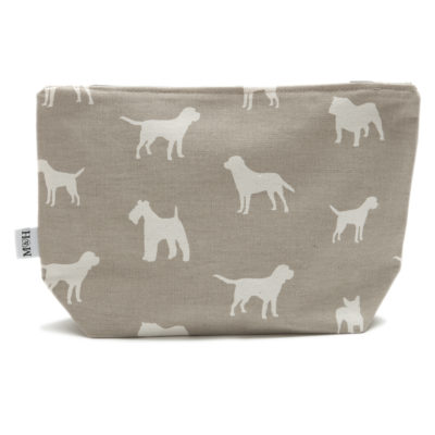 mutts-and-hounds-Washbag-Dog-Print-French-Grey