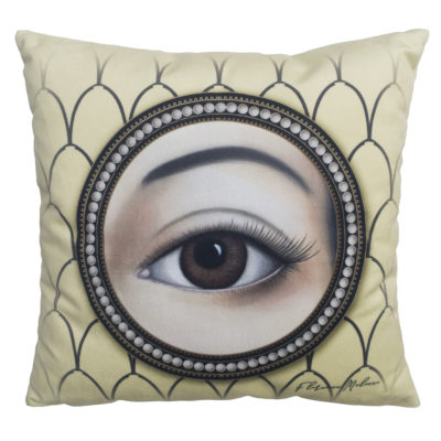 florence-malocco-cushion-yellow-eye