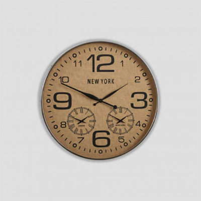 wall-clock-dialma-brown