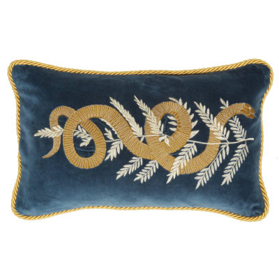 Jakobsdals-cushion-elegant-snake-cushion