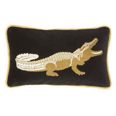 Jakobsdals-cushion-Elegant-Croc-Cushion