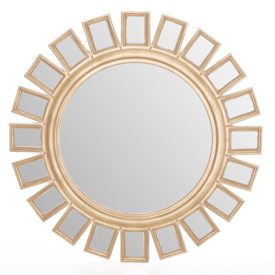 Meihua Gold Wall Mirror Latzio