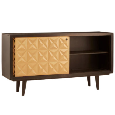 Albert wood and gold Sideboard Latzio