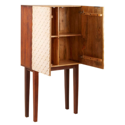 Iliamna rose wood pattern Cabinet Latzio