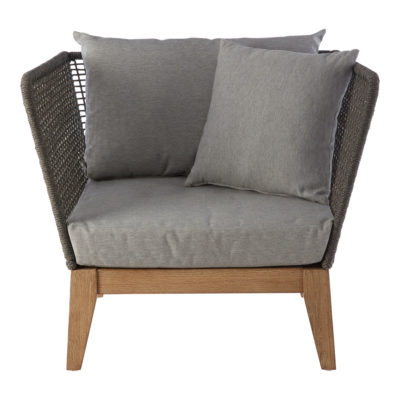 Erie Grey Armchair Latzio