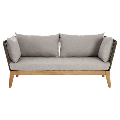Erie 3 Seat Grey Sofa Latzio