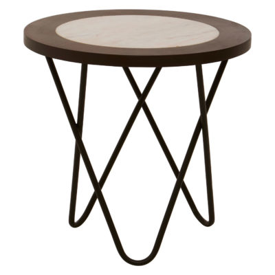 Como Side Table With Hairpin Legs Latzio