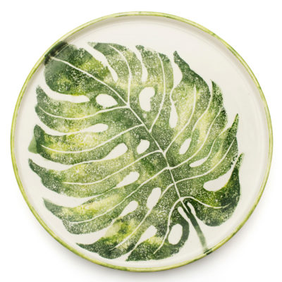 Round-Tray-Monstera-Leaf-Into-the-Jungle-BlissHome