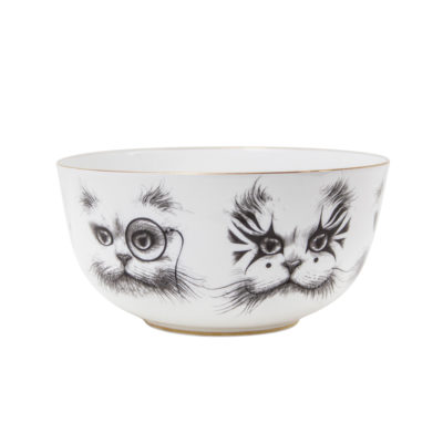 CAT-MONOCLE-&-CLOWN-CAT-BOWL-SMALL-rory-dobner