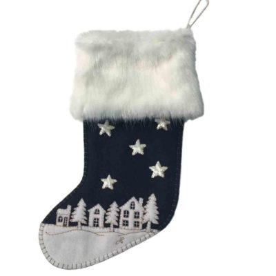 Starry-Night-Christmas-Stocking-Navy-blue-jan-constantine