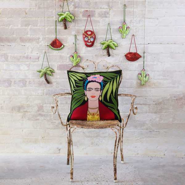 The-Frida-Kahlo-Cushion-black-jan-constantine