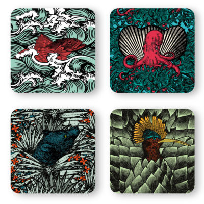 SET-of-4-coasters-SAFARI-gangzai