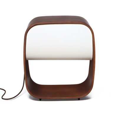 Wooden lamp by Faro
