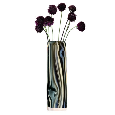 eclipse-glass-vase-silver-mercury-lsa-international
