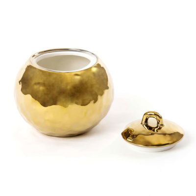 Fingers-Porcelain-Gold-Sugar-Pot