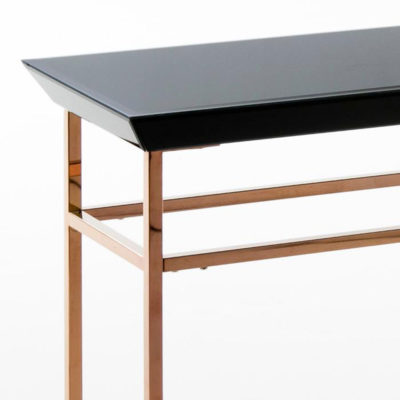 console-yuna-rose-gold-stainless-glass-black-latzio
