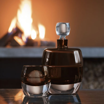 whisky-club-decanter-peat-brown-glass-lsa-international