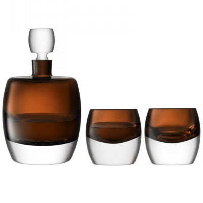 whisky-club-whisky-set-peat-brown-glass-lsa-international