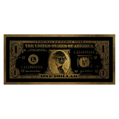dollar-washington-aluart-mondiart-wall-art